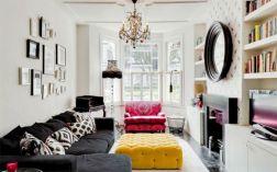 Narrow living room furniture 16