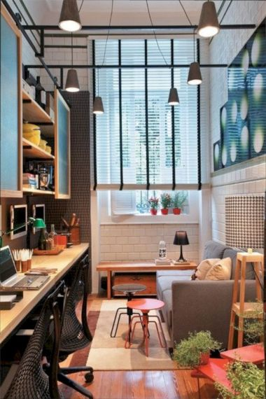 Narrow living room furniture 19
