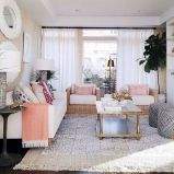 Narrow living room furniture 26