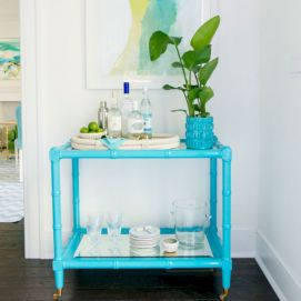 Painted faux bamboo furniture design 01