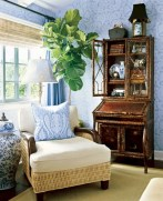 Painted faux bamboo furniture design 04