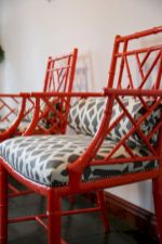 Painted faux bamboo furniture design 10