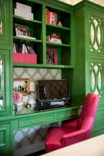 Painted faux bamboo furniture design 11