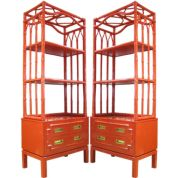 Painted faux bamboo furniture design 25