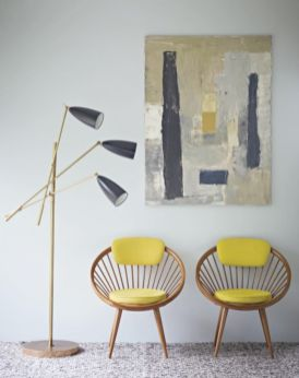 Painted mid century modern furniture 04