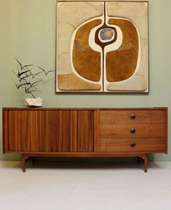 Painted mid century modern furniture 18