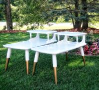Painted mid century modern furniture 27
