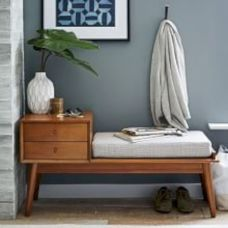 Painted mid century modern furniture 42