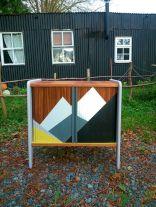 Painted mid century modern furniture 53