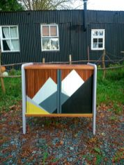Painted mid century modern furniture 53