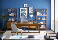 Painted mid century modern furniture 59