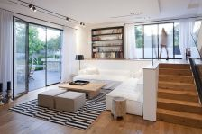 Simple living room design ideas with tv 02