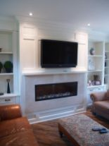 Simple living room design ideas with tv 13