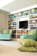 Simple living room design ideas with tv 15