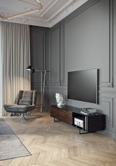 Simple living room design ideas with tv 22