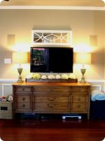 Simple living room design ideas with tv 52