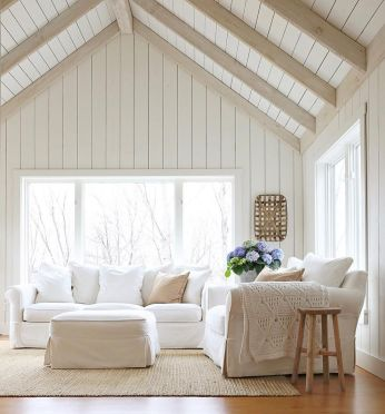 Simple and comfortable living room ideas 18