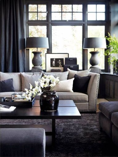 Simple and comfortable living room ideas 31