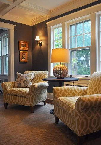 Simple and comfortable living room ideas 44