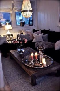 Simple and comfortable living room ideas 51