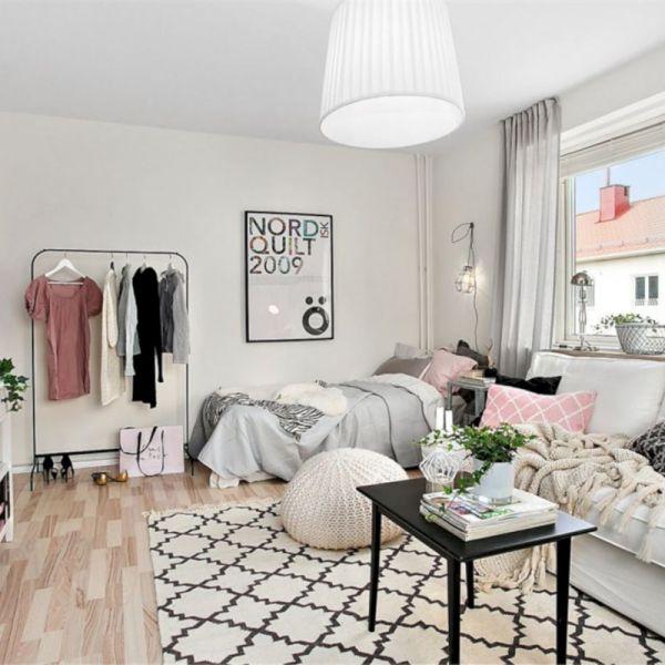 50 Cozy Minimalist Studio Apartment Decor Ideas