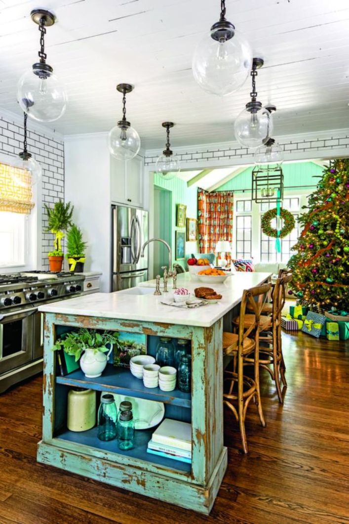 Stunning christmas decorating ideas for the kitchen 01