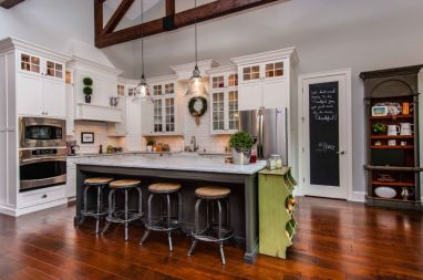 Stunning christmas decorating ideas for the kitchen 14
