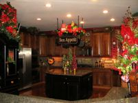 Stunning christmas decorating ideas for the kitchen 16