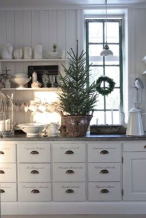 Stunning christmas decorating ideas for the kitchen 20