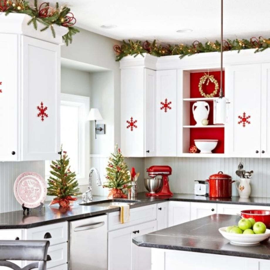 Bon Stunning Christmas Decorating Ideas For The Kitchen 34