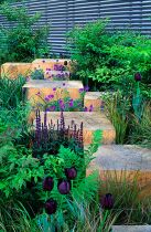 Stunning garden design ideas with stones 01