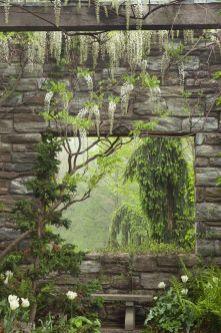 Stunning garden design ideas with stones 09