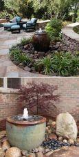 Stunning garden design ideas with stones 14