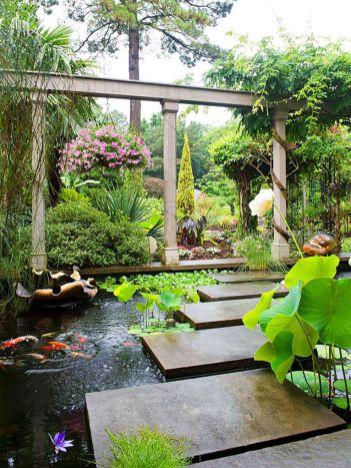 Stunning garden design ideas with stones 21