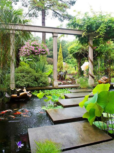 Stunning garden design ideas with stones 21