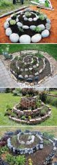 Stunning garden design ideas with stones 38