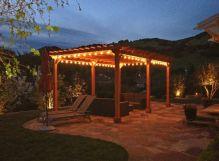 Stunning garden pergola ideas with roof 13