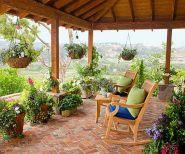 Stunning garden pergola ideas with roof 19