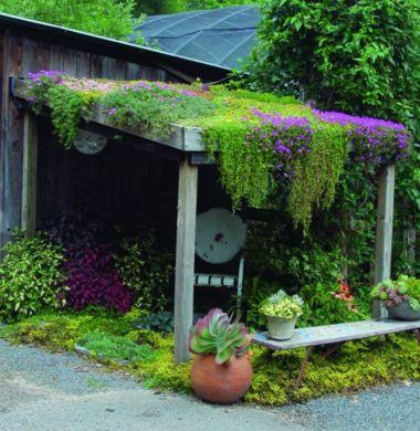 Stunning garden pergola ideas with roof 20
