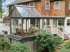 Stunning garden pergola ideas with roof 28