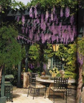 Stunning garden pergola ideas with roof 47