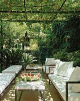 Stunning garden pergola ideas with roof 48