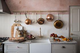 Stunning grey wash kitchen cabinets ideas 05