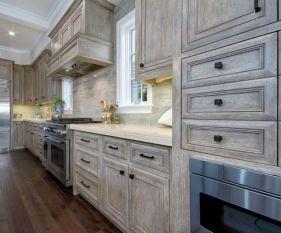 Stunning grey wash kitchen cabinets ideas 06