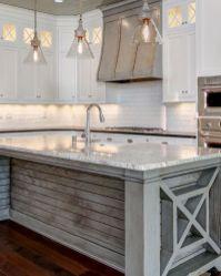 Stunning grey wash kitchen cabinets ideas 09