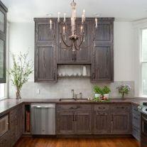 Stunning grey wash kitchen cabinets ideas 12