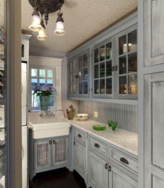 Stunning grey wash kitchen cabinets ideas 14