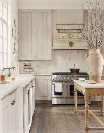 Stunning grey wash kitchen cabinets ideas 19