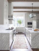 Stunning grey wash kitchen cabinets ideas 38