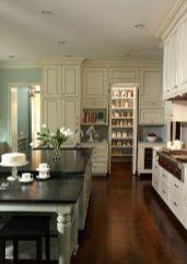 Stylish dark green walls in living room design ideas 21